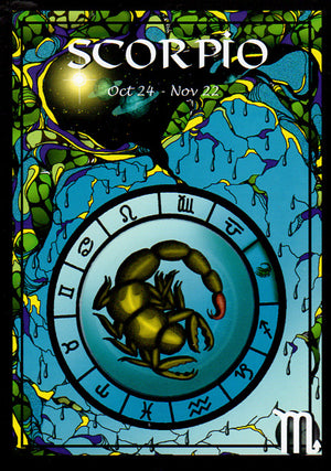 Astrology Scorpio Greeting Card
