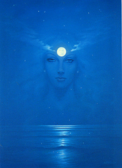 Keith English Sea Goddess Art Card