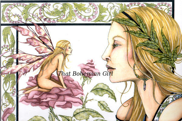 Amy Brown Fairy Secrets Print -- Limited Edition 11 x 14