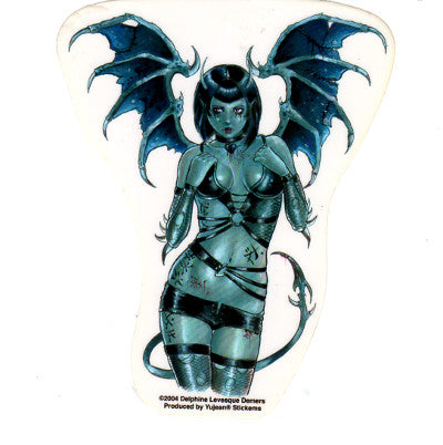 Delphine Levesque Demers Seductive Devil Sticker