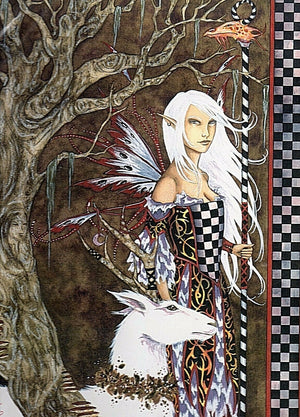 Amy Brown The Seer Fairy Limited Edition 11 x 14 Signed Print