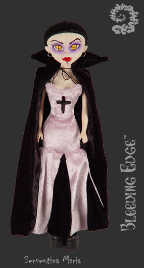 Serpentina Maria Sangria -- BeGoth -- Gothic Bleeding Edge Doll