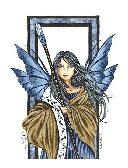 Amy Brown Shaman II Fairy Print