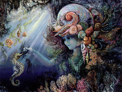 Josephine Wall Shell Child Note Card