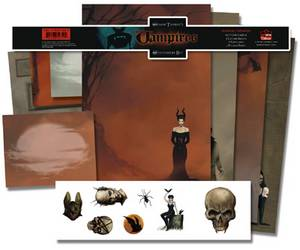 Simon Thorpe Vampire Stationery Set