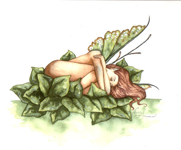 Amy Brown Sleeping Fairy Print
