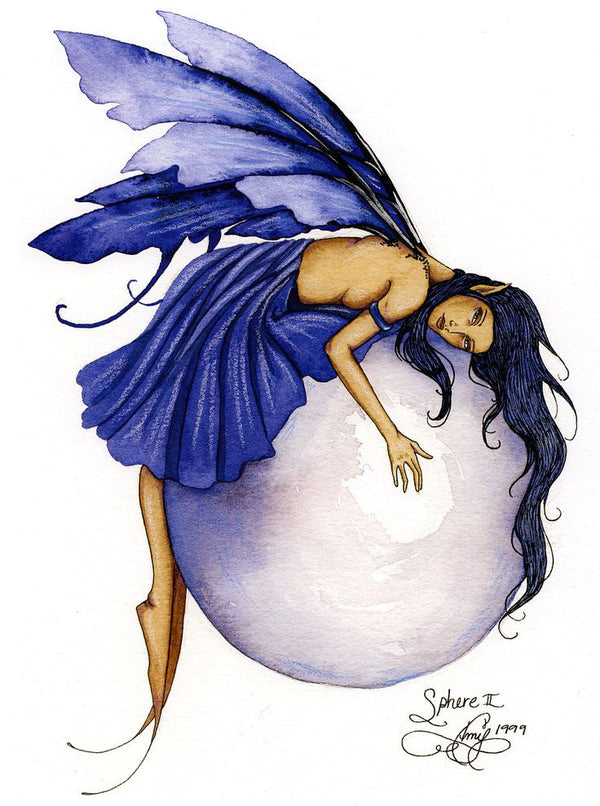 Amy Brown Sphere II Fairy Postcard
