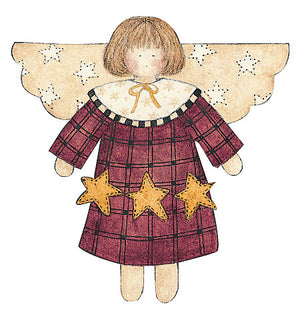 Wallies Debbie Mumm Star Angel Wallpaper Cutouts