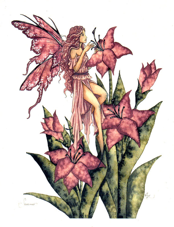 Amy Brown Summer Fairy Print