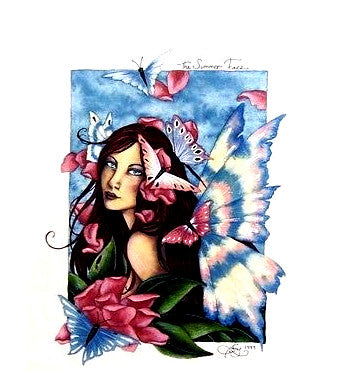 Amy Brown The Summer Face Fairy Print, 8 x 10