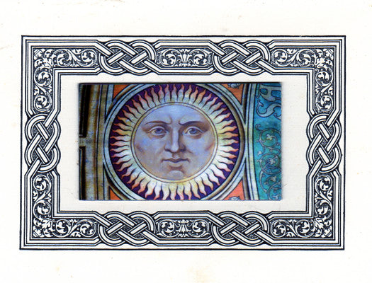 Paul Guess Celestial Sun Magnet Greeting Card