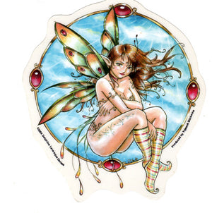 Delphine Levesque Demers Sunlight Fairy Sticker