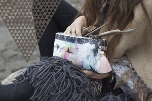Bohemian Swallows Bird Accessory Bag -- Last One