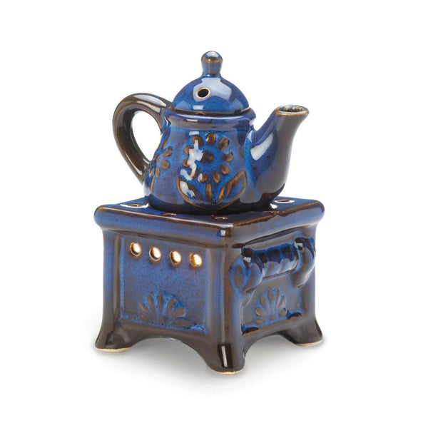 Teapot Stove Fragrance Oil Burner Warmer