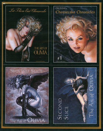 Olivia De Berardinis Magnets -- Set of 4