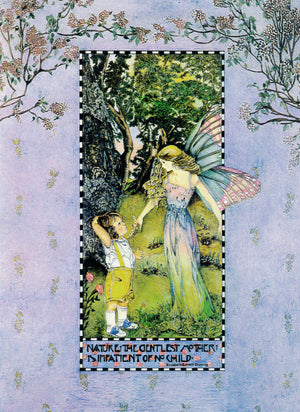 Diana G Ison The Enchanted Forest Fairy Greeting Card