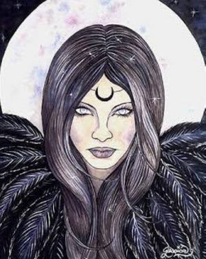 Jessica Galbreth The Morrigan Limited Edition Signed Print