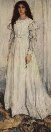 James McNeill Whistler The White Girl Symphony in White 1 Bookmark