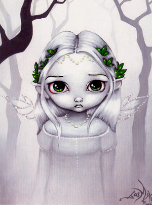 Jasmine Becket Griffith The Last Leaves Fairy Print