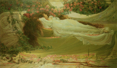 Thomas Ralph Spence Sleeping Beauty Art Card