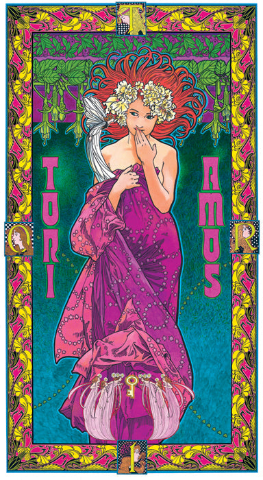 Bob Masse Tori Amos Playbill Art Card