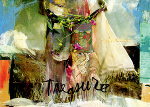 Sabrina Ward Harrison Treasure Greeting Card