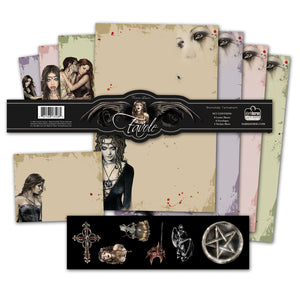 Victoria Frances Beautiful Gothic Stationery Set + Stickers