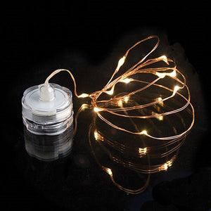 Submersible Warm White Wire Tiny String Lights