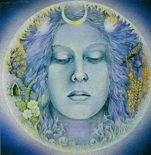 Linda Garland Way of the Goddess Greeting Card
