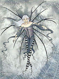 Amy Brown Web Walker Fairy Print