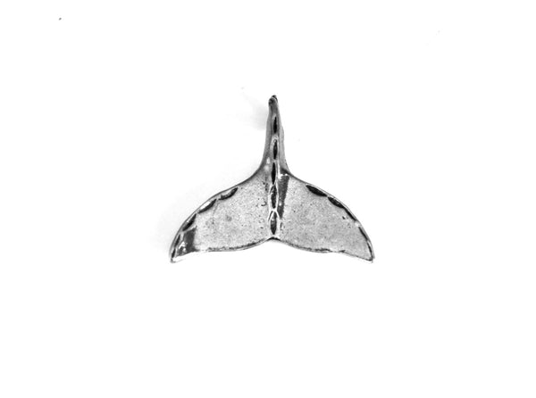 Pewter Whale Tail Pendant Jewelry
