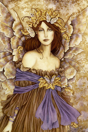 Amy Brown Willow Fairy Print -- Limited Edition -- 11 x 14