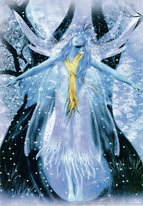 Winter Fairy Greeting Card