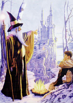 Wizard + Boy Greeting Card