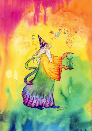 Karen Bagnard Wizardry Greeting Card