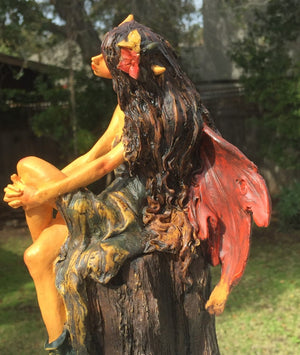 Large Woodland Fairy Figurine