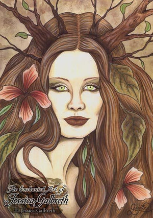 Jessica Galbreth Wood Witch Signed Limited Edition Print