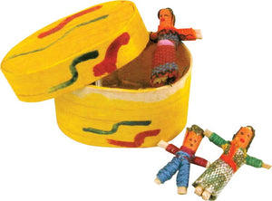Guatemalan Worry Doll Set in Box
