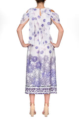 TWO PEARS-Purple Floral Dress