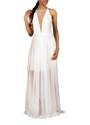 DRESS THE POPULATION-PATRICIA WHITE GOWN