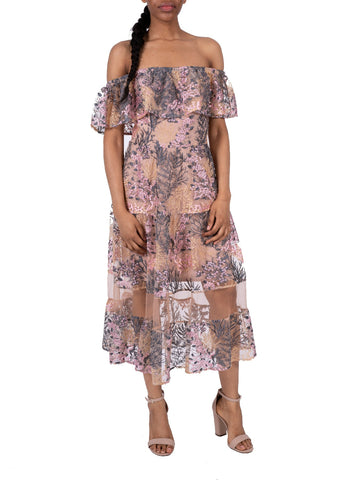 DRESS THE POPULATION-GABRIELLA DRESS