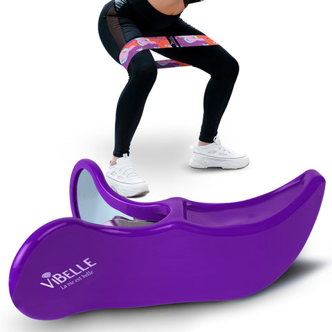 Hip Trainer Muscle Stimulator Fitness Tool-PURPLE