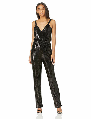 DRESS THE POPULATION-LEIGH JUMPSUIT