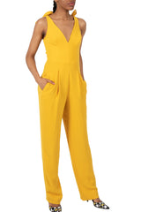 DRESS THE POPULATION-MAIRA JUMPSUIT