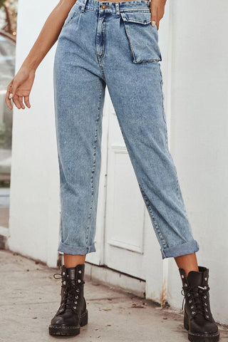 Pocket Long Leg Jeans