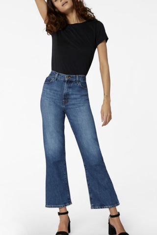 Ninth Length Bell Jeans