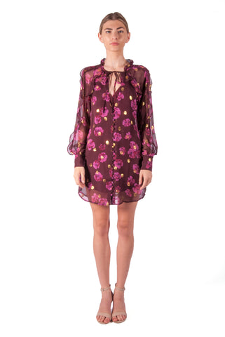 FOR LOVE & LEMONS-ROMY BUTTON UP DRESS