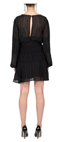 TALULAH-CHALEUR L/S MINI DRESS