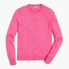 J CREW-COTTON CARYN CARDIGAN SWEATER