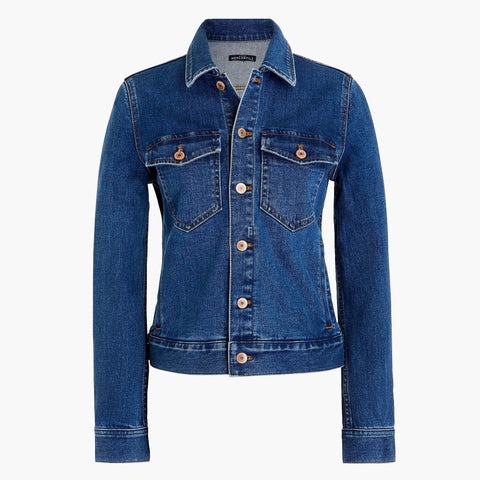 J CREW-DENIM JACKET